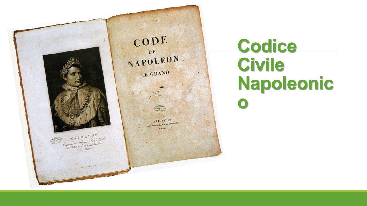 Codice Civile Napoleonic o