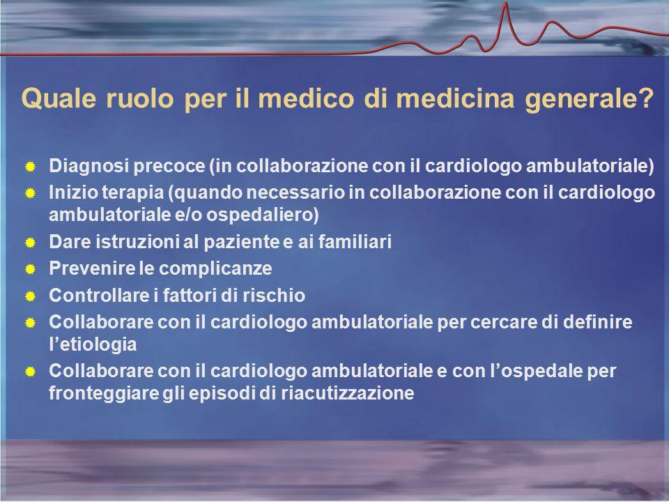 Quale ruolo per il medico di medicina generale.