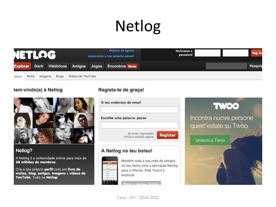 Netlog Caso - DPI - 2014-2015