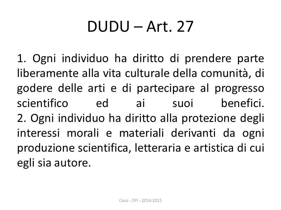DUDU – Art. 27 1.