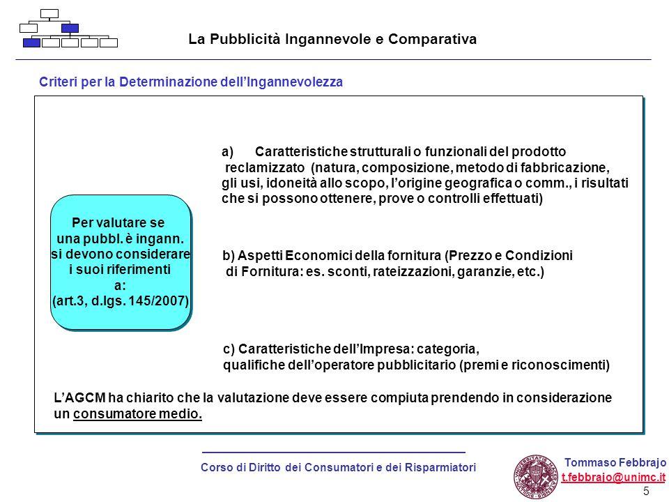 16 Corso di Diritto dei Consumatori e dei Risparmiatori Tommaso Febbrajo t.febbrajo@unimc.it Contratti negoziati fuori dei locali commerciali Come viene tutelato il consumatore.