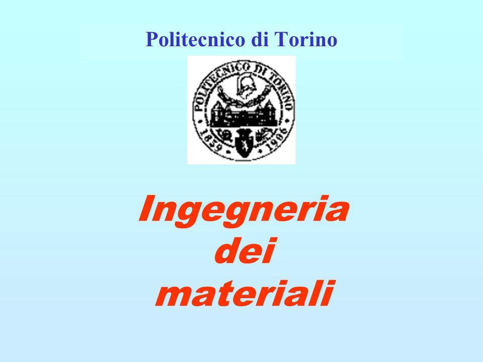 Ingegneria dei materiali Politecnico di Torino