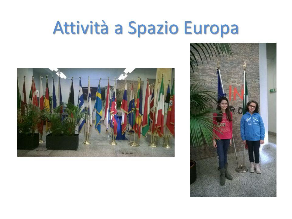 Attività a Spazio Europa