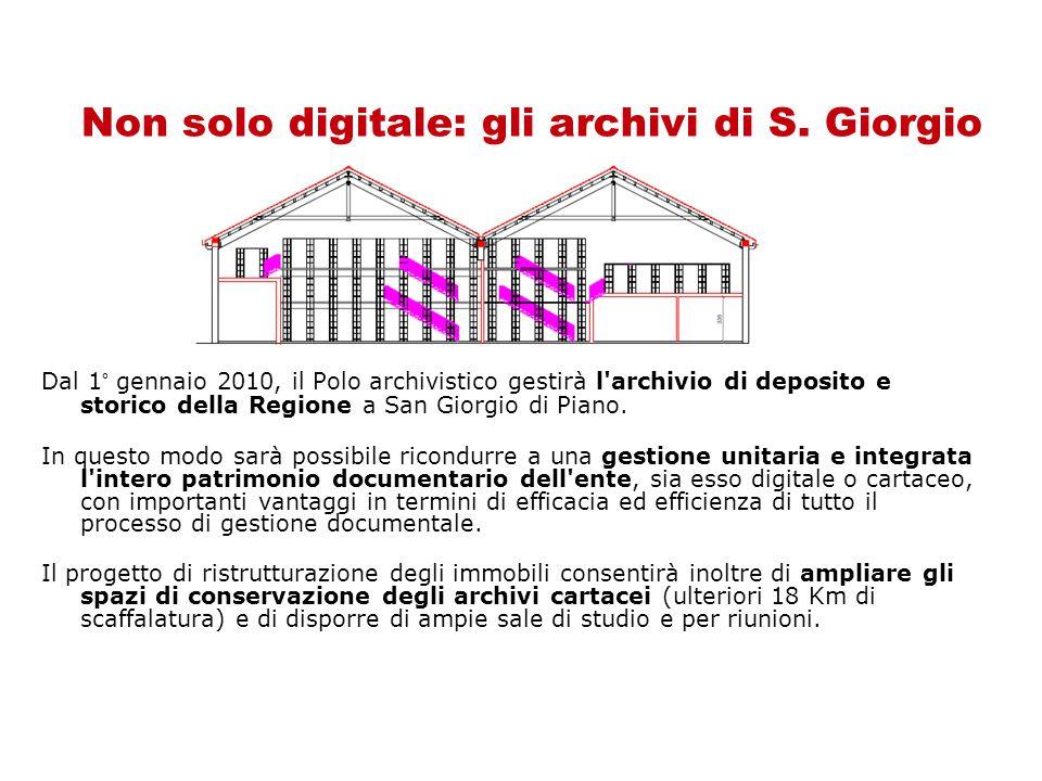 Non solo digitale: gli archivi di S.