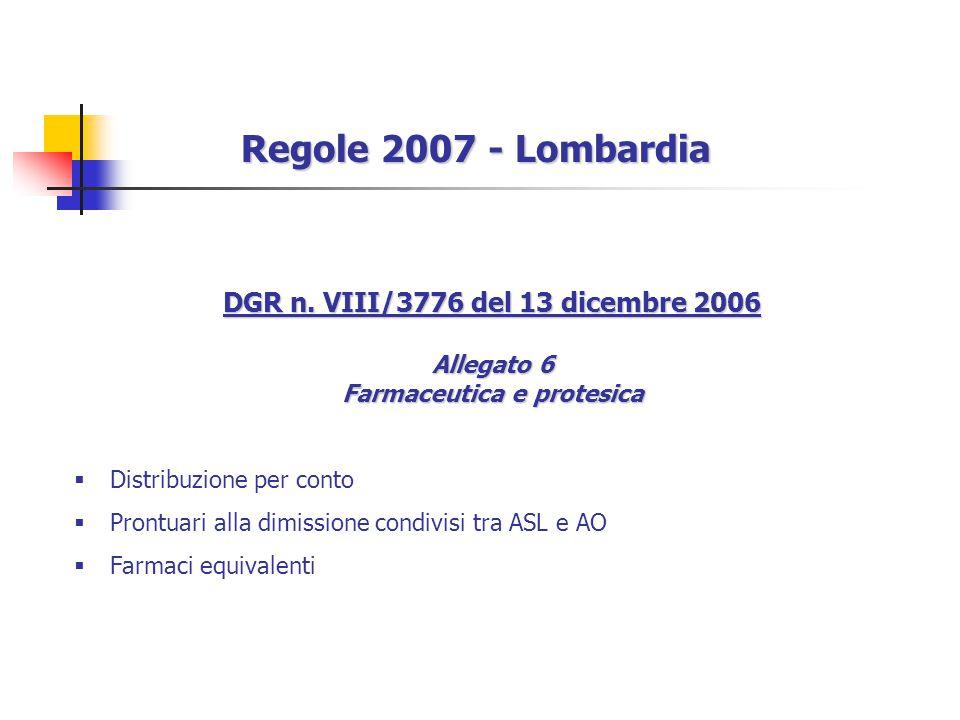 Regole 2007 - Lombardia DGR n.