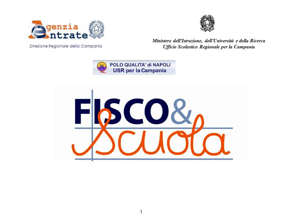 1 Direzione Regionale della Campania Ministero dell'Istruzione, dell'Università e della Ricerca Ufficio Scolastico Regionale per la Campania