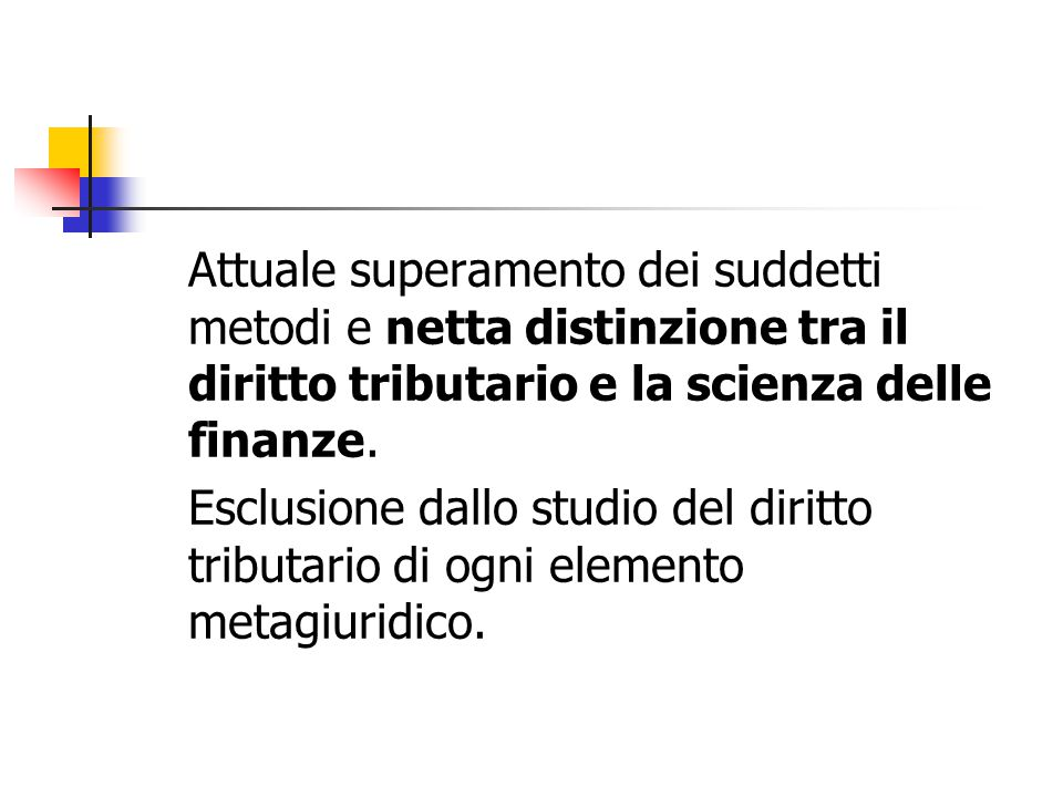 Esenzioni ed agevolazioni fiscali Se ne riconosce la legittimità ex art.