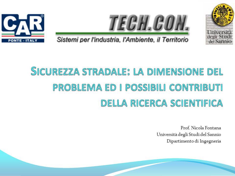 Prof. Nicola Fontana Università degli Studi del Sannio Dipartimento di Ingegneria