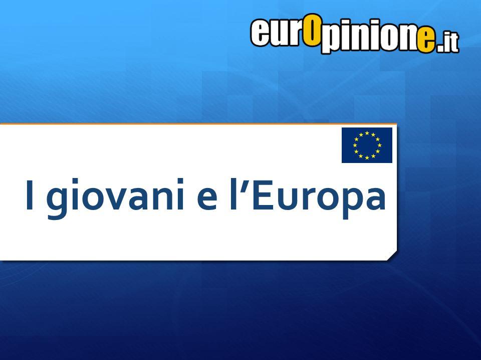 Fascia d'età: 18-28 Età media: 23,65 Campione: 200 L Unione Europea è un istituzione di primaria importanza nel futuro del Continente, della quale l Italia non può fare a meno.