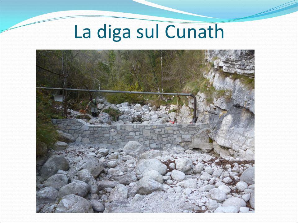 La diga sul Cunath