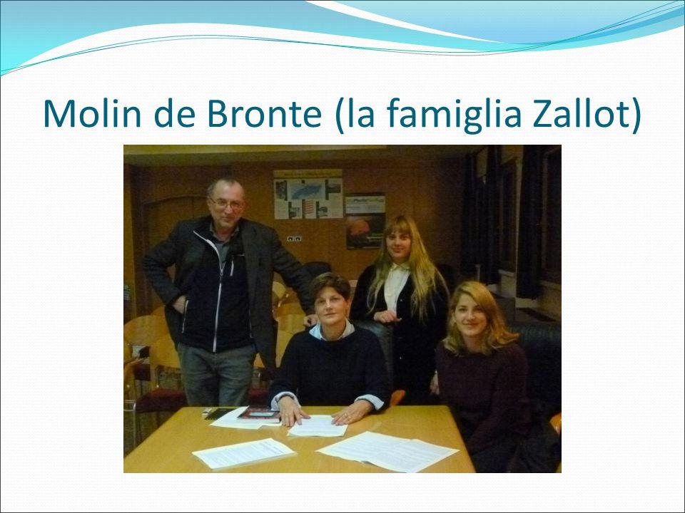 Molin de Bronte (la famiglia Zallot)