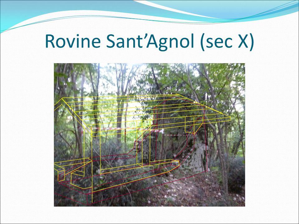 Rovine Sant'Agnol (sec X)
