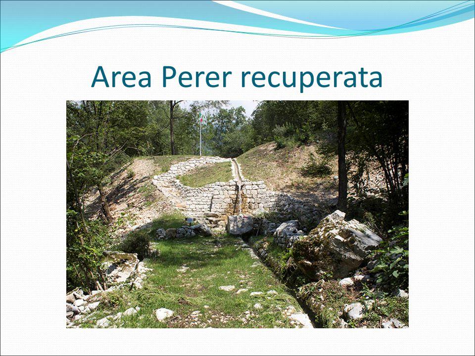 La cascata Perer (dopo)