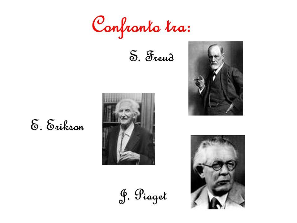 Confronto tra: S. Freud E. Erikson J. Piaget