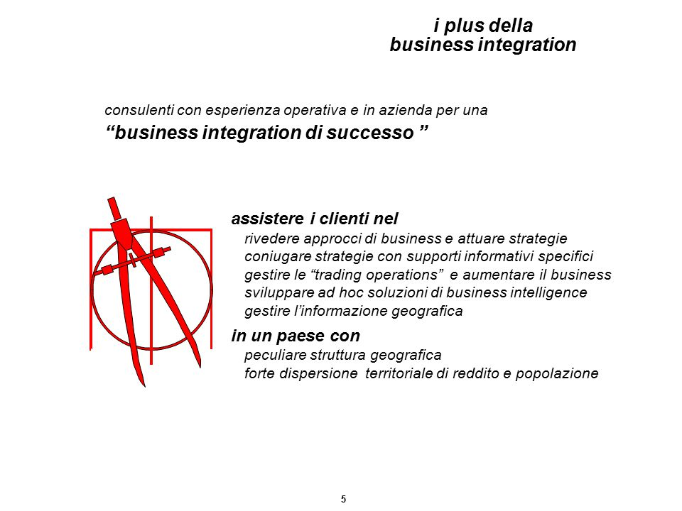 "assistere i clienti nel rivedere approcci di business e attuare strategie coniugare strategie con supporti informativi specifici gestire le ""trading o"