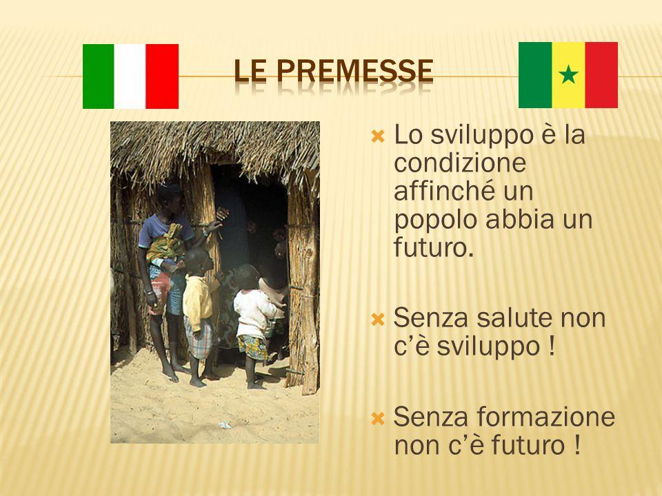  Lo sviluppo è la condizione affinché un popolo abbia un futuro.
