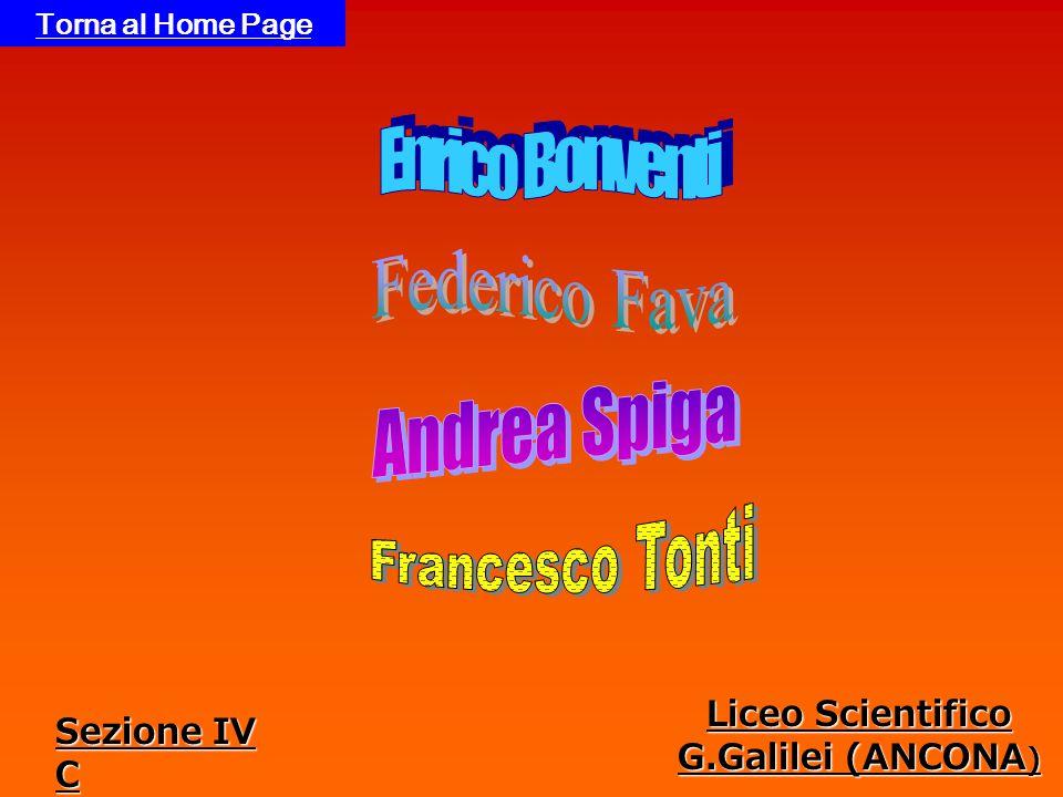Liceo Scientifico G.Galilei (ANCONA ) Torna al Home Page Sezione IV C
