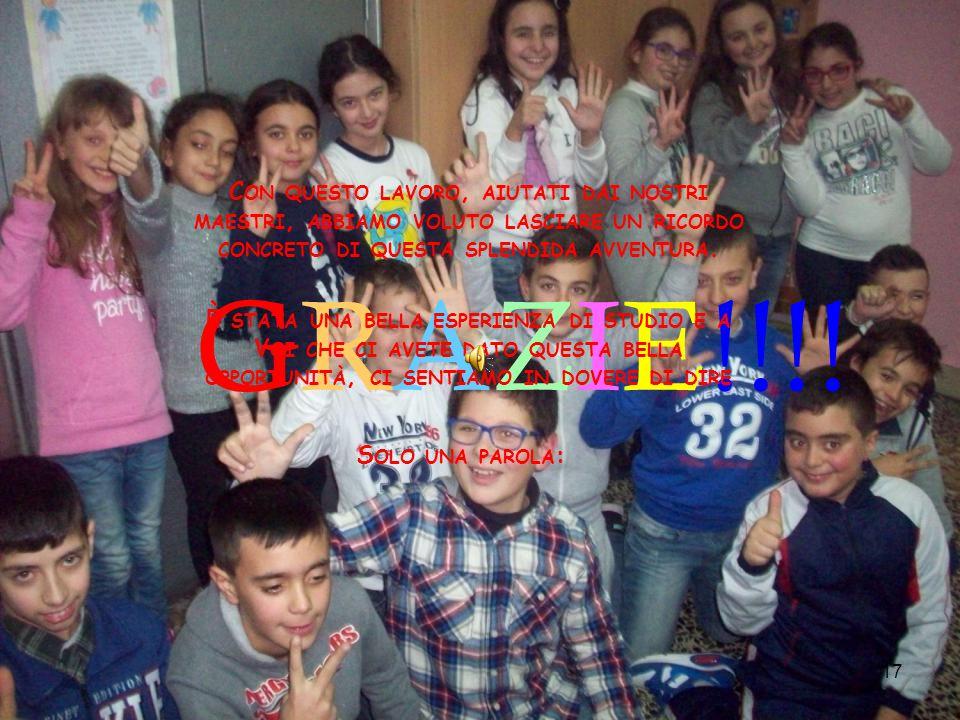 17 GRAZIE!!!.
