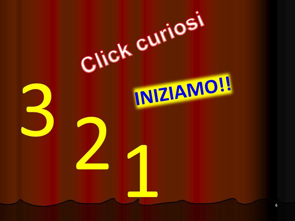 6 3 2 1 INIZIAMO!!