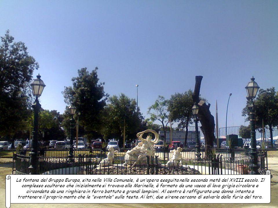 La fontana di Mezzocannone fu costruita per volere di Alfonso II d'Aragona in sostituzione di una preesistente. Presentava una grande vasca appoggiata