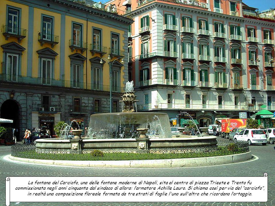 La fontana del Gruppo Europa, sita nella Villa Comunale, è un'opera eseguita nella seconda metà del XVIII secolo. Il complesso scultoreo che inizialme