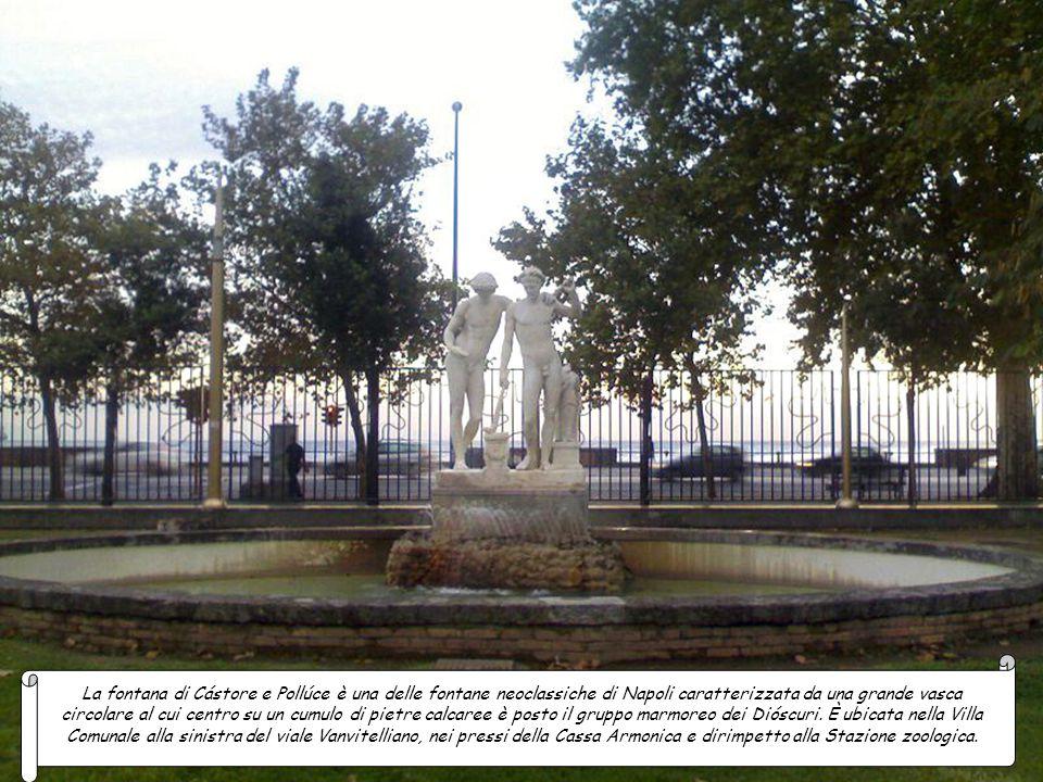 La fontana della Maruzza storica fontana di Napoli è sita nei giardinetti della chiesa di Santa Maria di Portosalvo. La struttura e la chiesa furono v