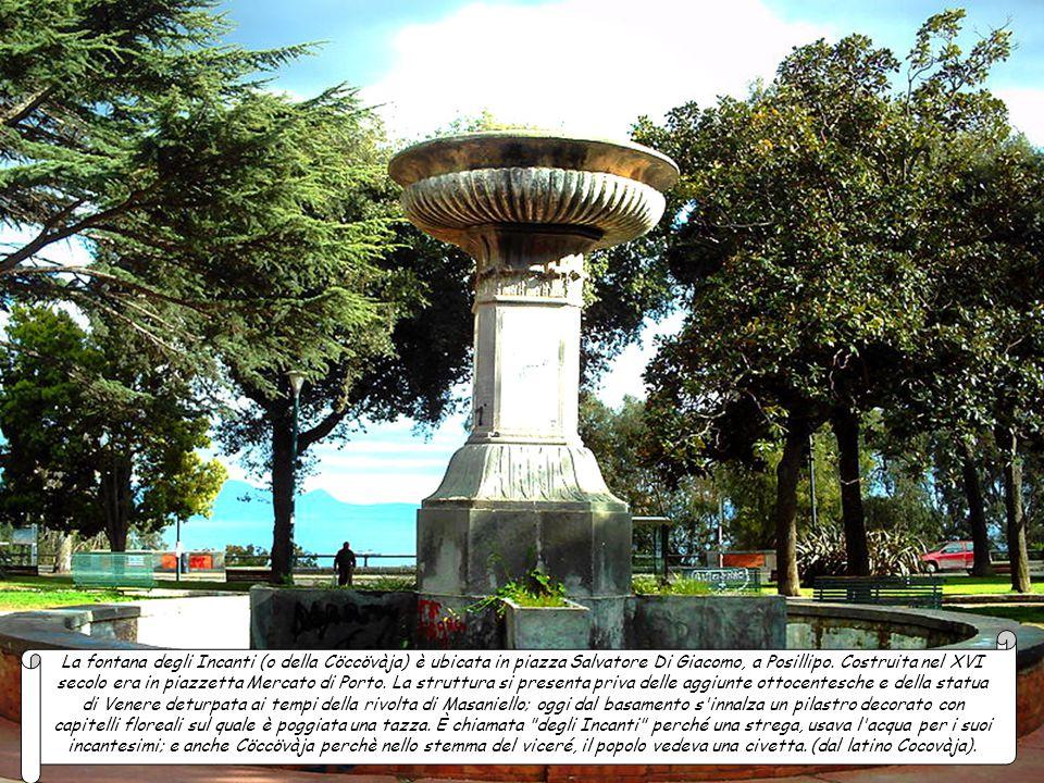 La fontana della Scapigliata storica fontana ubicata in via Egiziaca a Forcella, di fronte all'Ospedale dell'Annunziata. Venne eretta tra il 1539 e il