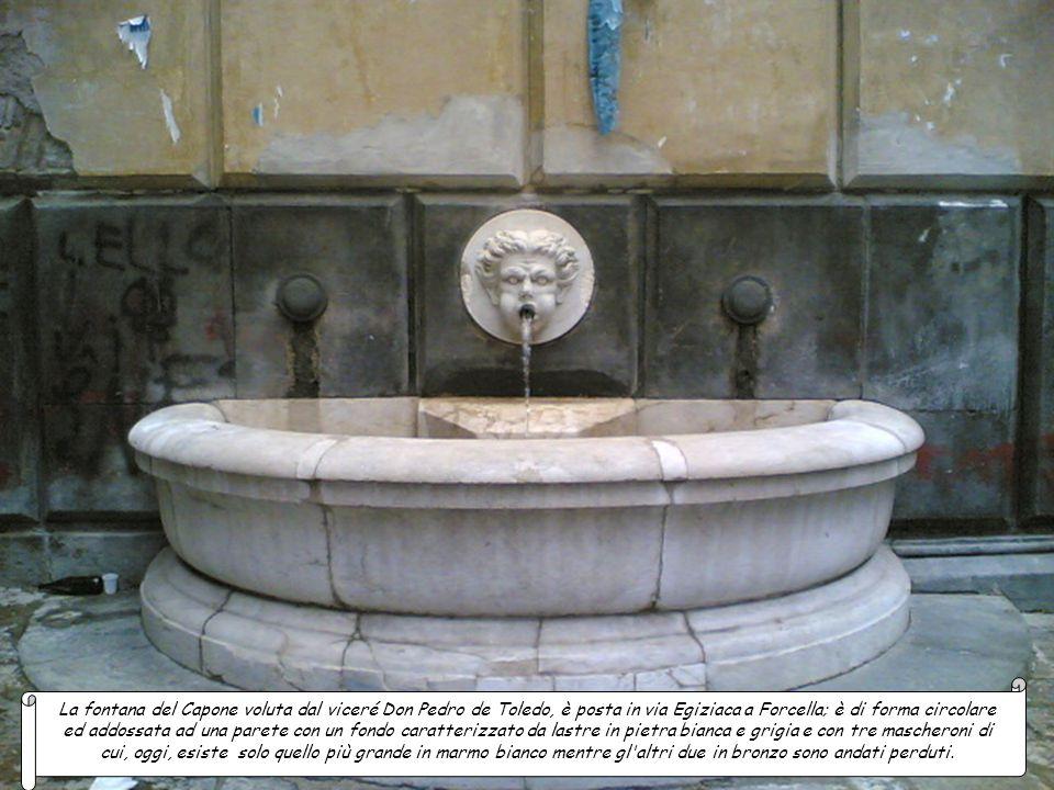 La fontana del Cortile delle Carrozze è ubicata nel cortile del Palazzo reale dove un tempo erano accolte le carrozze dei dignitari che venivano a far