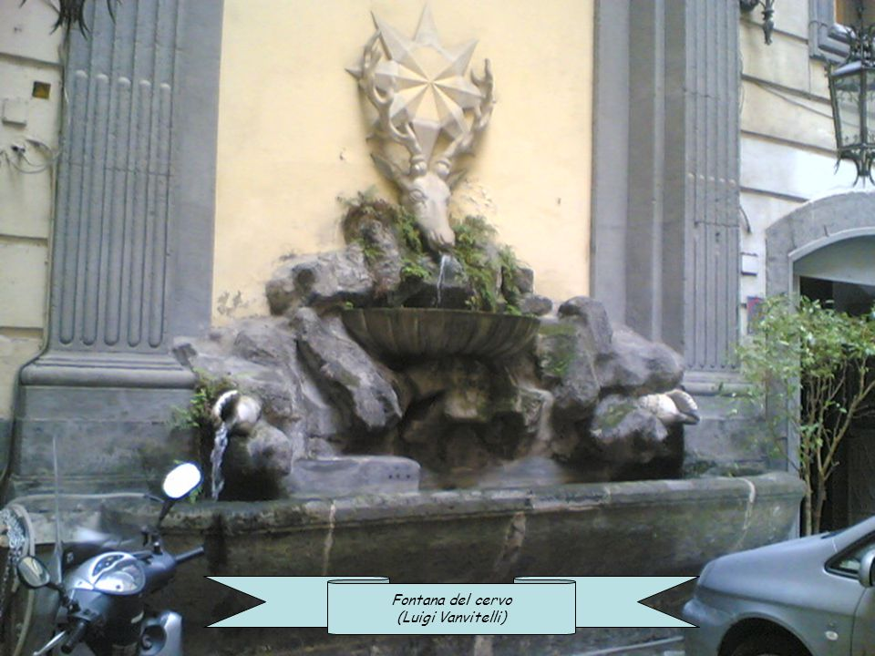 quella del Leone è il pianto di un principe napoletano, cui unico e buon amico era rimasto un leone che gli morì miseramente; e quella di fontana Medi