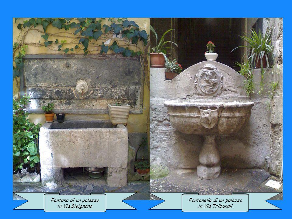 Fontana di un plesso a Materdei