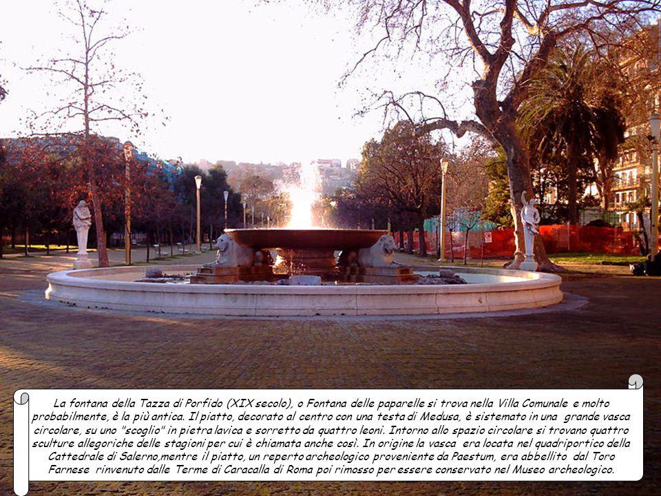 La fontana di Monteoliveto (XVII secolo) detta anche di re Carluccio, venne dedicata a Carlo II di Spagna. Posta in piazzetta Trinità Maggiore si pres