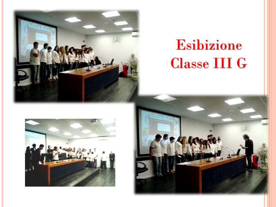 Esibizione Classe III G