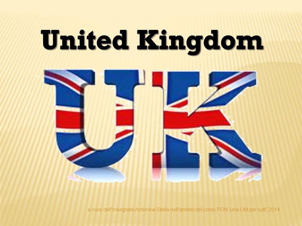 UNITED KINGDOM Il Regno Unito di Gran Bretagna e Irlanda del Nord (denominazione ufficiale in lingua inglese: United Kingdom of Great Britain and Northern Ireland) è uno stato situato nell Europa occidentale.