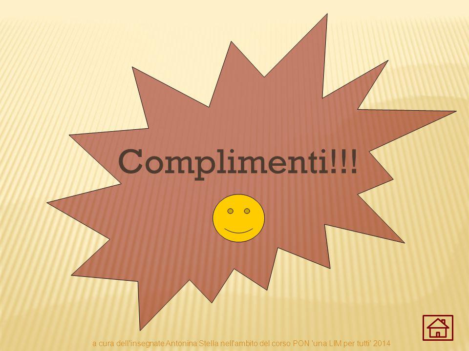 Complimenti!!! a cura dell'insegnate Antonina Stella nell'ambito del corso PON 'una LIM per tutti' 2014