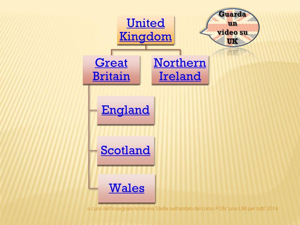 GREAT BRITAIN La Gran Bretagna è l isola comprendente la maggior parte del territorio dell Inghilterra, del Galles e della Scozia.