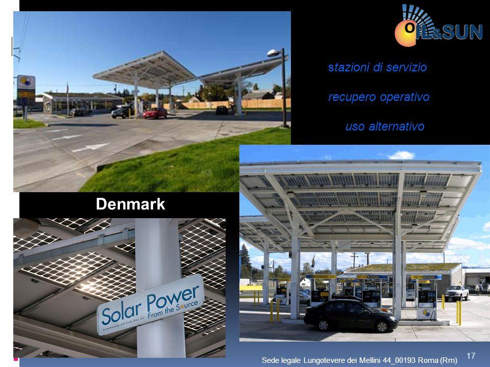 Denmark stazioni di servizio recupero operativo uso alternativo 17 Sede legale Lungotevere dei Mellini 44_00193 Roma (Rm)