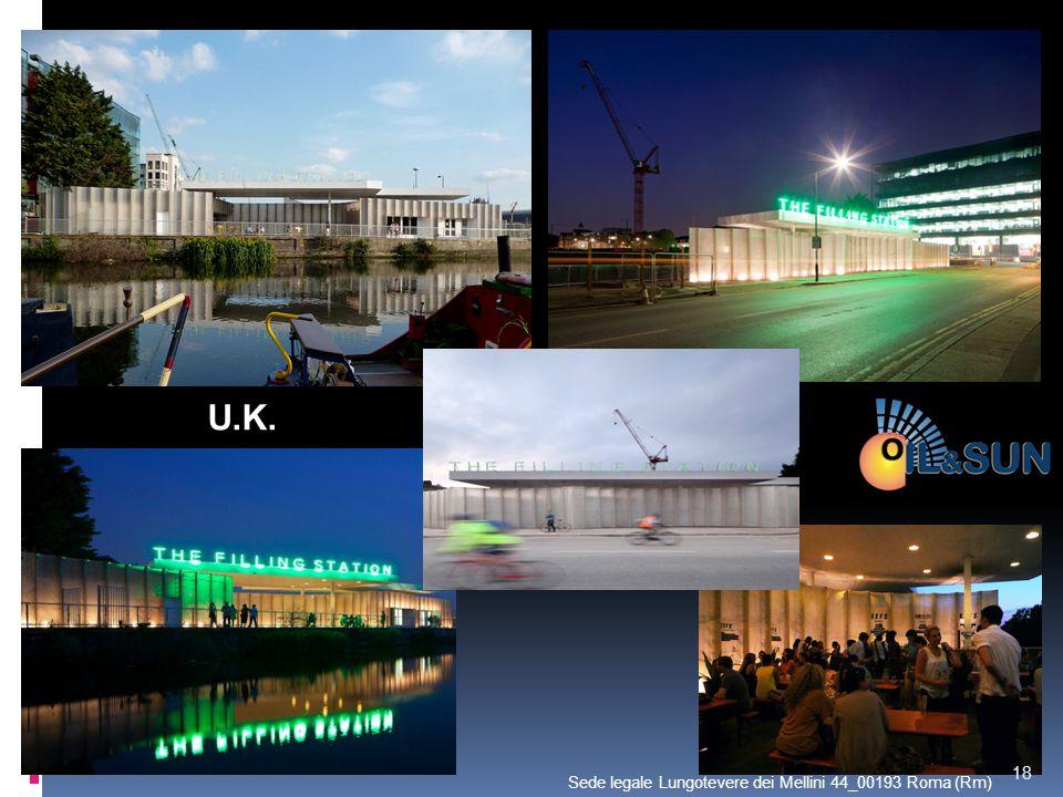U.K. 18 Sede legale Lungotevere dei Mellini 44_00193 Roma (Rm)