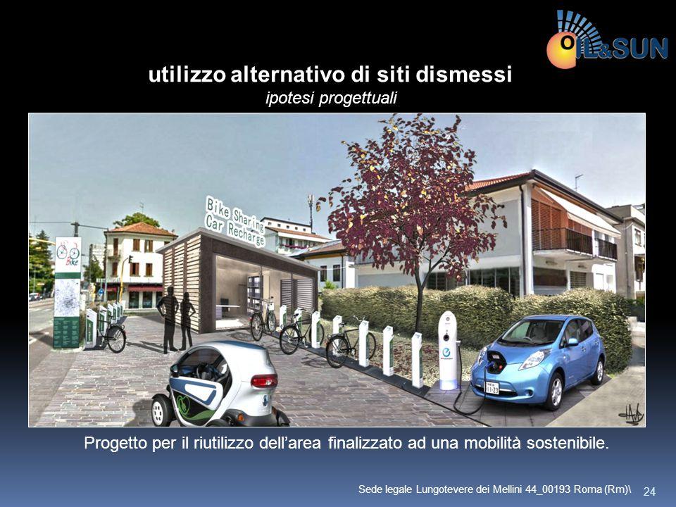 Progetto per il riutilizzo dell'area finalizzato ad una mobilità sostenibile. utilizzo alternativo di siti dismessi ipotesi progettuali 24 Sede legale