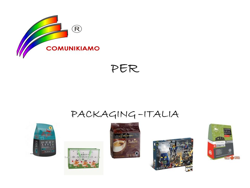 P ER PACKAGING –ITALIA