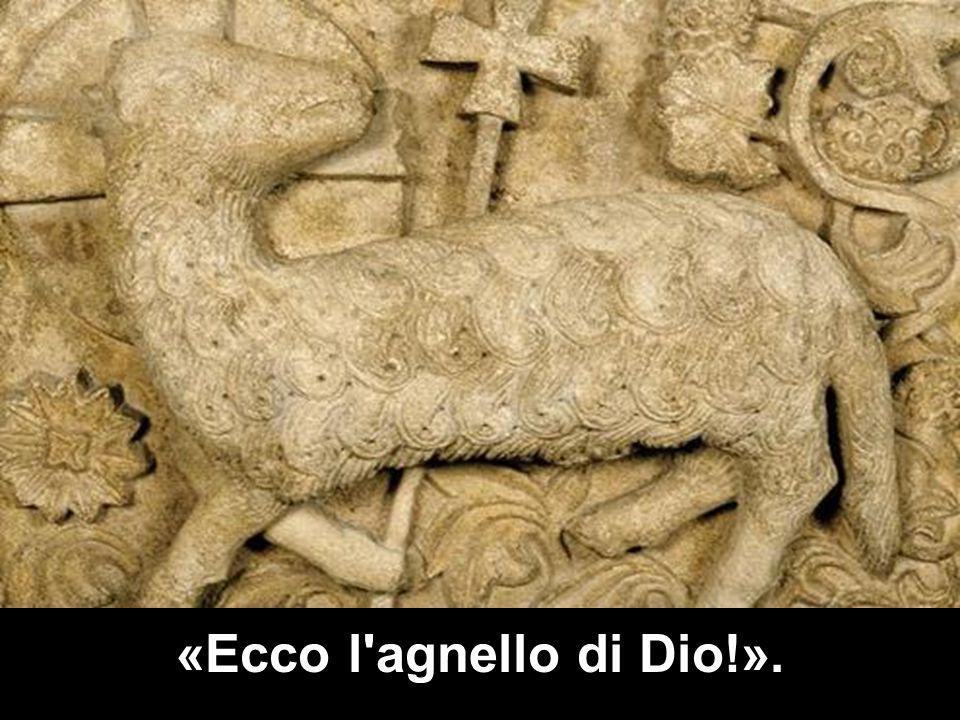 «Ecco l'agnello di Dio!».