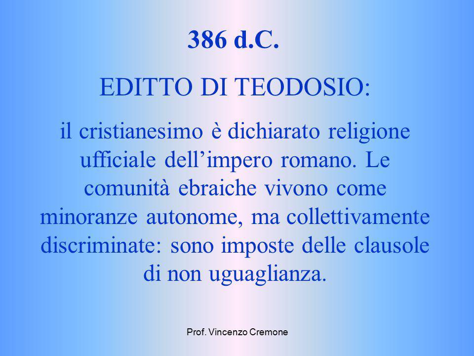 131-137 d.C.Ultima rivolta dei giudei contro i romani.