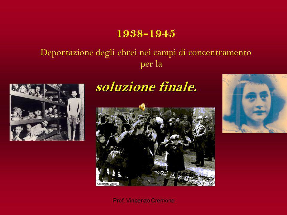 1935 15 Settembre: emanazione delle leggi di Norimberga leggi di Norimberga contro gli ebrei.