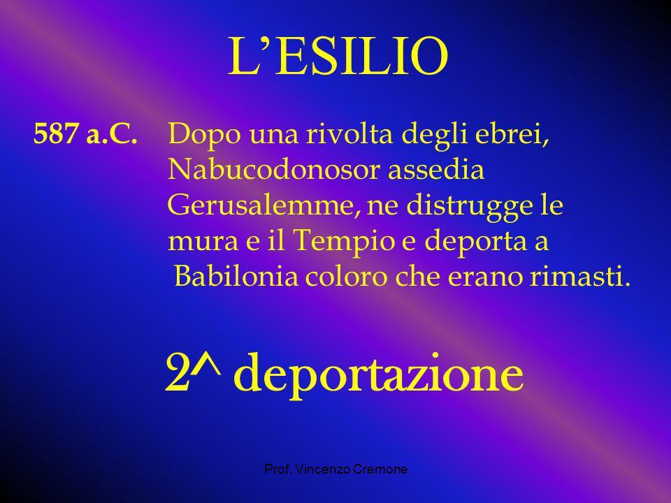 Prof.Vincenzo Cremone 587 a.C.