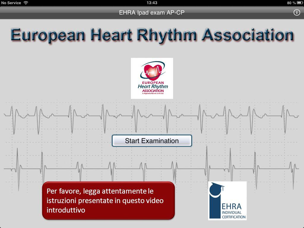 Esame di Certificazione EHRA