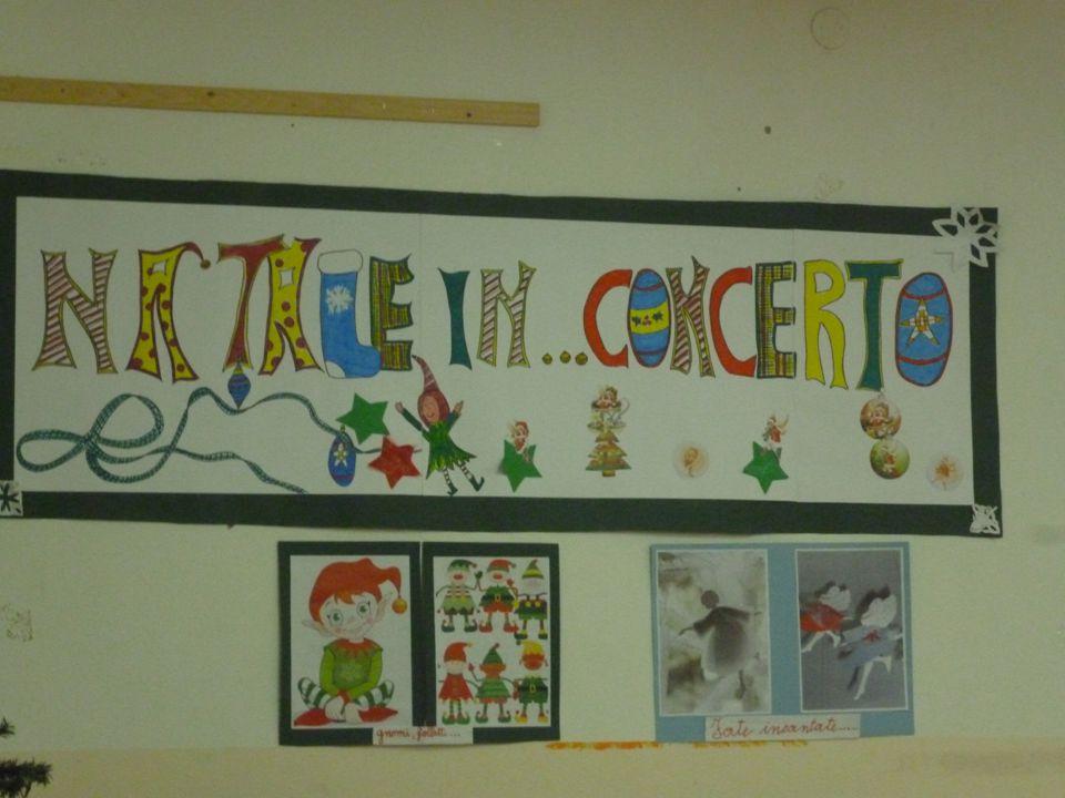 La classe 5 a A presenta Natale in … Concerto! Recita con canti e strumentario: