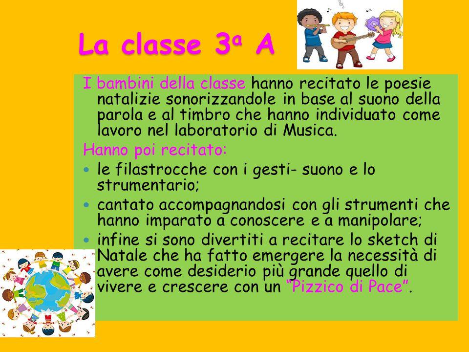 Programma Saggio Classe 2 a A L albero degli amici (lettura con base musicale).
