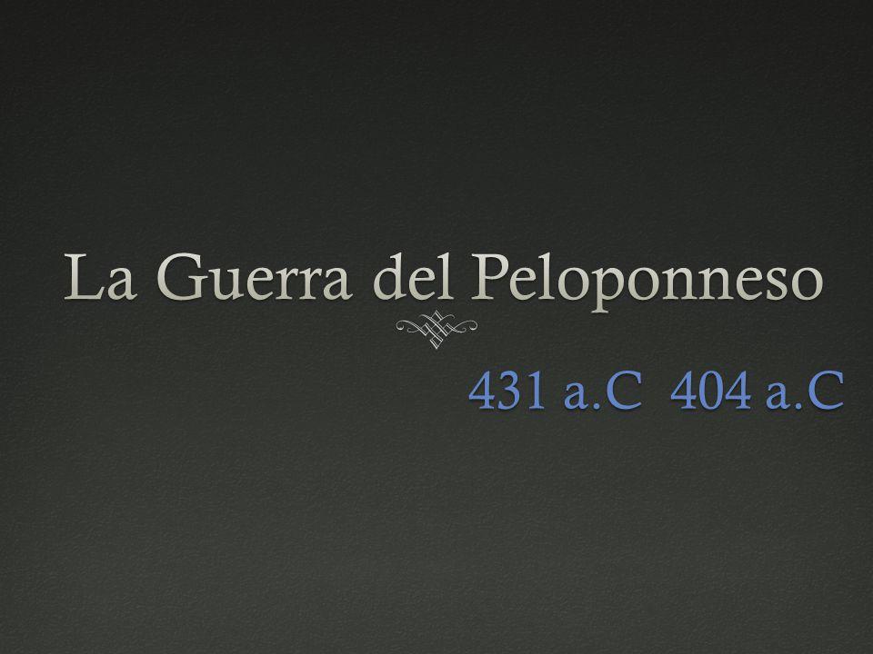 431 a.C 404 a.C