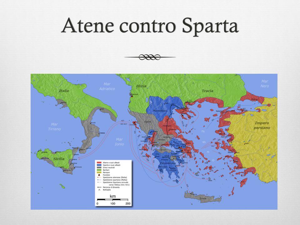 Atene contro SpartaAtene contro Sparta
