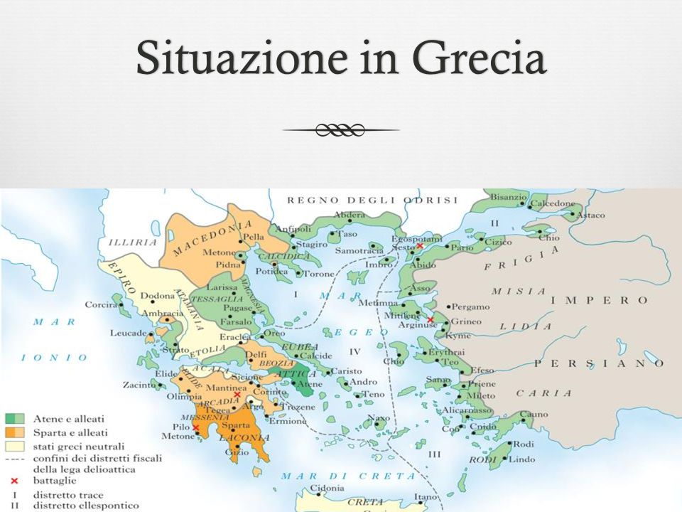 Situazione in GreciaSituazione in Grecia