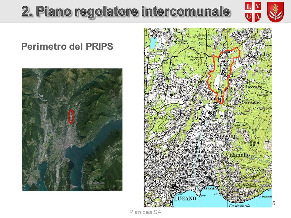 Perimetro del PRIPS 5 Planidea SA